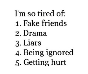 fff, lies, and fake friends image