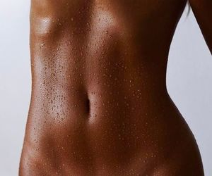 abs, fit, and vegan image