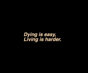 quotes, living, and dying image