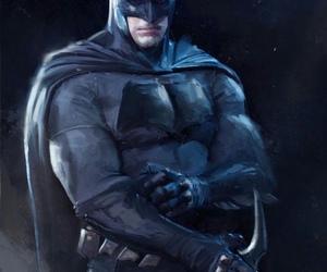 art, bruce wayne, and batman image