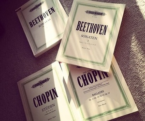Beethoven, chopin, and music image