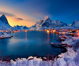 norway, nature, and snow image