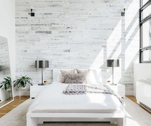architecture, rustic, and bedroom image