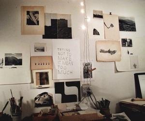 room, art, and tumblr image