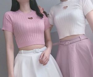 fashion, girl, and outfits image