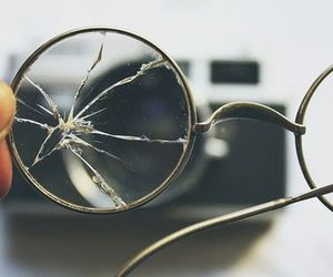 harry potter, glasses, and broken image