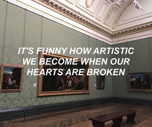 aesthetic, art, and broken image