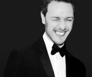 actor, james mcavoy, and split image