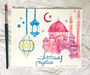 art, draw, and Ramadan image
