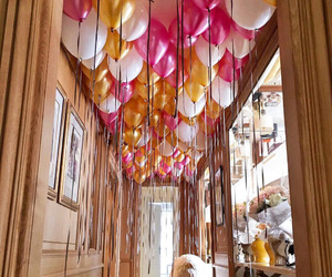 balloons, beautiful, and creative image