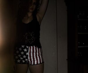 america, american flag, and chubby image