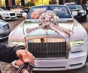 car, luxury, and rolls royce image