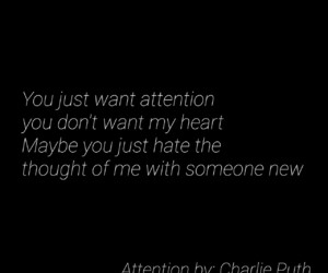 attention, heart, and i hate you image