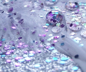 glitter and purple image