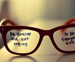 glasses, yourself, and motivational image