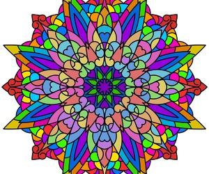 art, color, and hippies image