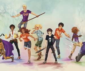 percy jackson, pjo, and piper mclean image