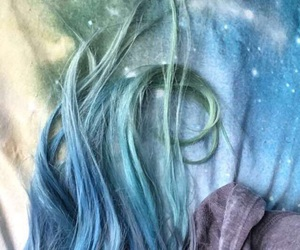 aesthetic, dyed hair, and pretty image