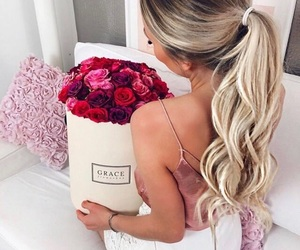 beauty, chic, and roses image