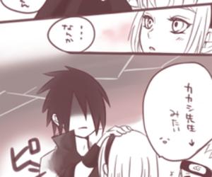 sakura, sasuke, and sakura haruno image