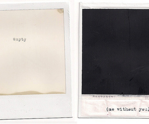 empty, polaroid, and picture image