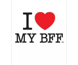 best friends, frases, and photograph image