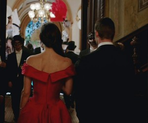 couple, red, and The Originals image