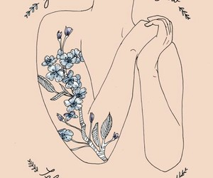 quotes, art, and self love image
