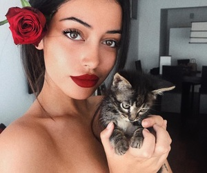 cat, pretty, and cindy kimberly image