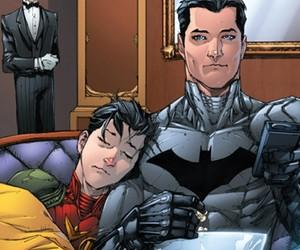 batman, robin, and jason todd image