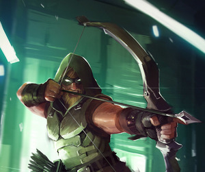 dc comics, green arrow, and oliver queen image