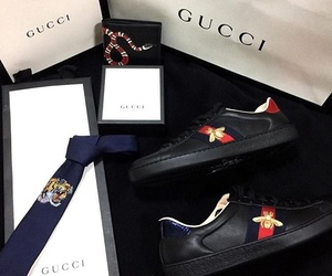 black, gucci, and luxury image