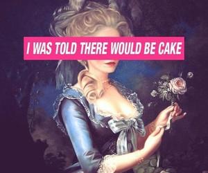 wallpaper, cake, and marie antoinette image