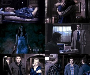 blue, like a virgin, and dean winchester image