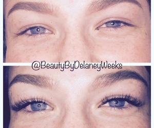 beauty, eyes, and lashextensions image