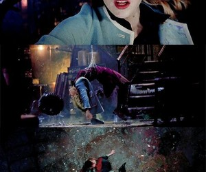 gwen stacy, peter parker, and emma stone image