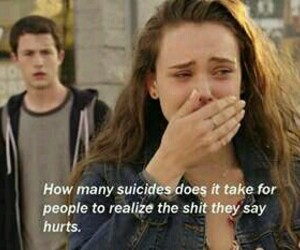 13 reasons why, quotes, and hannah baker image