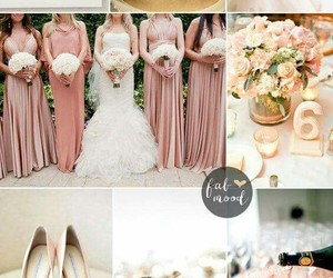 wedding and rosegold image