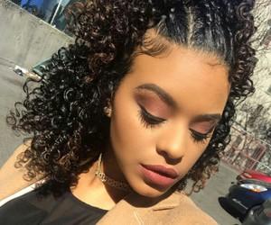 beautiful, curls, and fashion image
