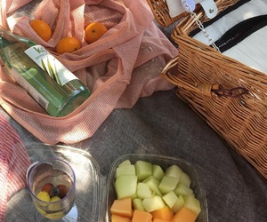 fruit, food, and picnic image
