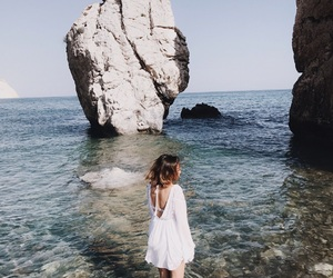 cyprus, sea, and summer image