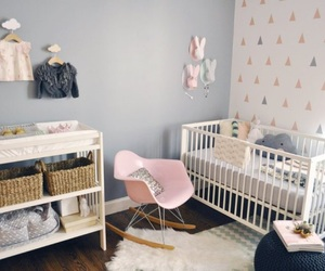 nursery, baby room, and bedroom image