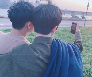 bl, couple, and ulzzang image