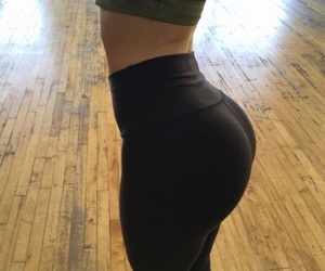 booty, fitness, and hi image