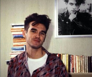 morrissey, the smiths, and robert smith image