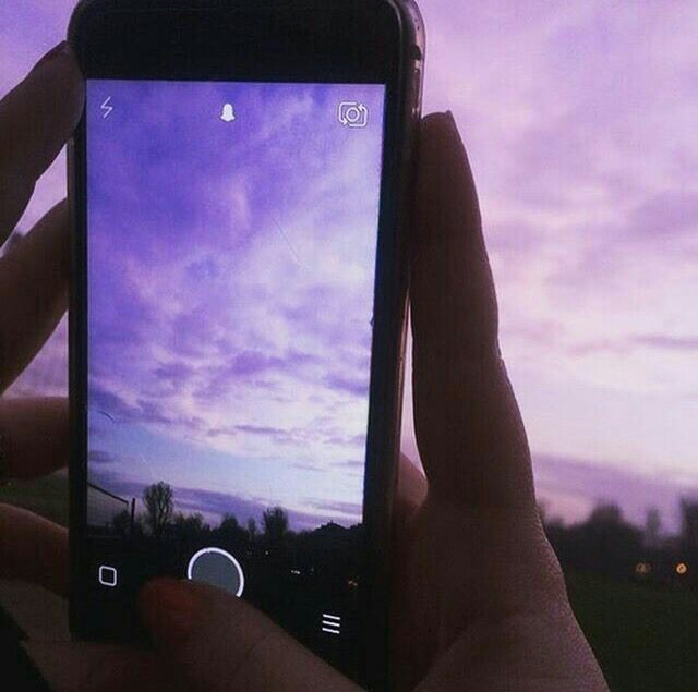 sky, purple, and tumblr image