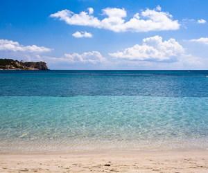 beach, ibiza, and summertime image