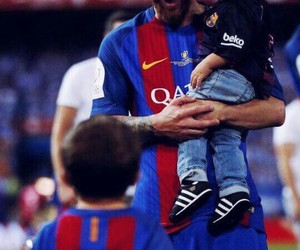 leo messi, Thiago, and fc barcelona image