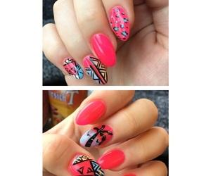 girly, happy, and nail art image