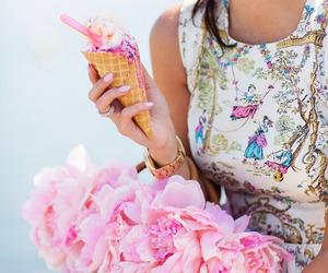 girl, pink, and girly image